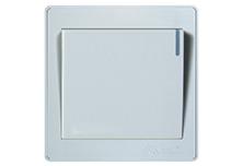 欧曼尔AT7系列16A多控一位面板开关