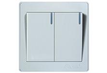 欧曼尔AT7系列多控16A二位面板开关